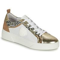 Sko Dame Lave sneakers Philippe Morvan SOAPY V3 Hvid / Brun