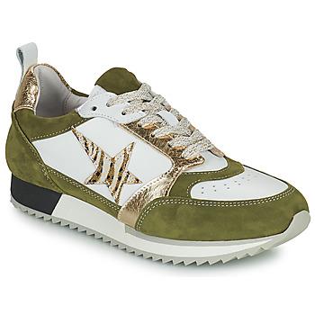 Sko Dame Lave sneakers Philippe Morvan ROOXY V2 Hvid / Kaki