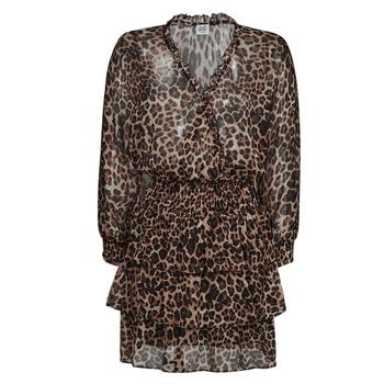 textil Dame Korte kjoler Liu Jo WA1530-T5059-T9680 Leopard
