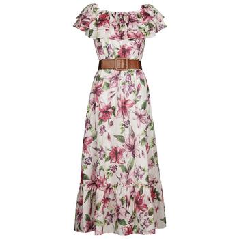 textil Dame Lange kjoler Liu Jo WA1496-T5976-T9706 Blomstret