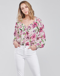 textil Dame Toppe / Bluser Liu Jo WA1084-T5976-T9706 Blomstret