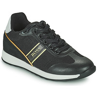 Sko Dreng Lave sneakers BOSS TRAMMI Sort / Guld