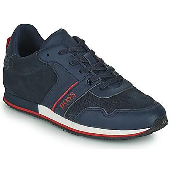 Sko Dreng Lave sneakers BOSS HOLLA Blå