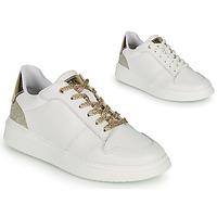 Sko Pige Lave sneakers BOSS NILLA Hvid / Guld