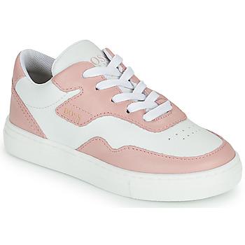 Sko Pige Lave sneakers BOSS PAOLA Hvid / Pink