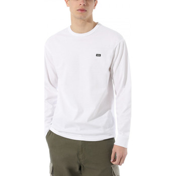 textil Herre Langærmede T-shirts Vans Off the wall clas Hvid