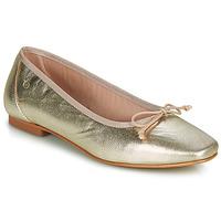 Sko Dame Ballerinaer Betty London ONDINE Guld
