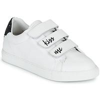 Sko Dame Lave sneakers Bons baisers de Paname EDITH KISS ME Hvid