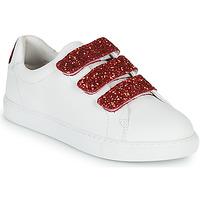 Sko Dame Lave sneakers Bons baisers de Paname EDITH BACK LIPS Hvid
