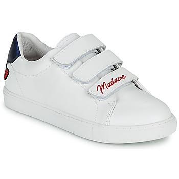 Sko Dame Lave sneakers Bons baisers de Paname EDITH MADAME MONSIEUR Hvid