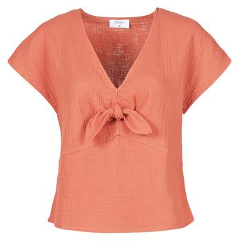 textil Dame Toppe / Bluser Betty London ODIME Terrakotta