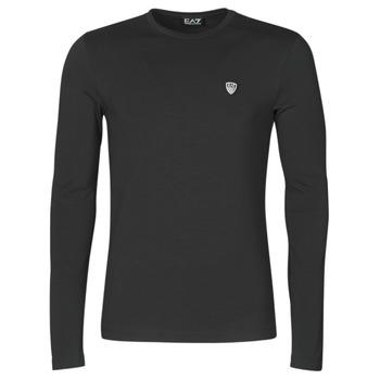 textil Herre Langærmede T-shirts Emporio Armani EA7 8NPTL9-PJ03Z-1200 Sort