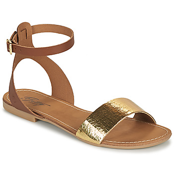 Sko Dame Sandaler Betty London GIMY Kamel / Guld
