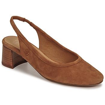 Sko Dame Højhælede sko Betty London OMMINE Cognac