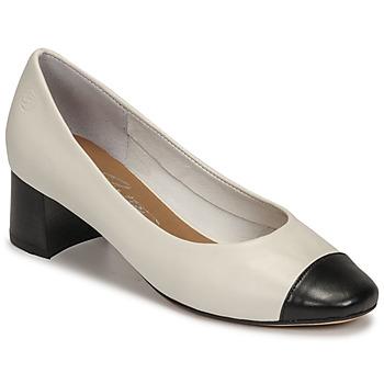 Sko Dame Højhælede sko Betty London OMINA Hvid / Sort