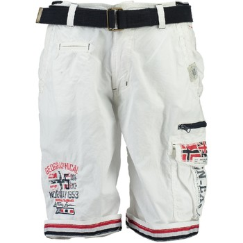 textil Dreng Shorts Geographical Norway PACOME Hvid