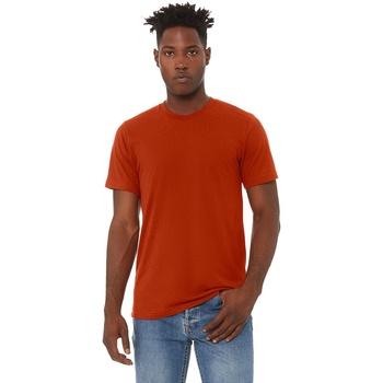 textil Herre T-shirts m. korte ærmer Bella + Canvas CA3413 Brick Triblend