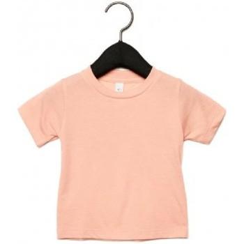textil Børn T-shirts m. korte ærmer Canvas CA3413T Peach Triblend