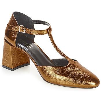 Sko Dame Højhælede sko Minelli GAELANE Bronze