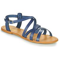 Sko Dame Sandaler So Size IDITRON Marineblå