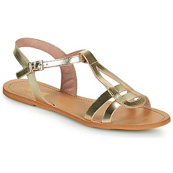 Sko Dame Sandaler So Size DURAN Guld