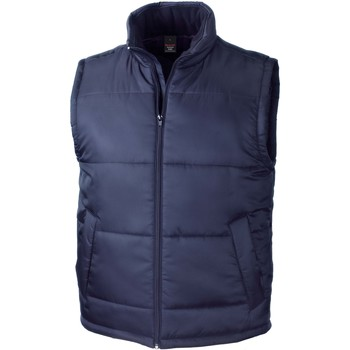 textil Veste / Cardigans Result Doudoune Sans Manche  Core bleu marine