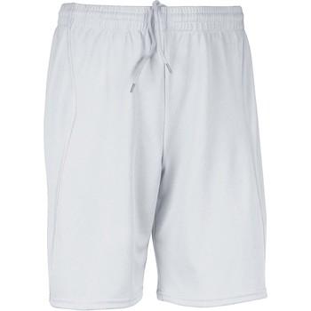 textil Herre Shorts Proact Short  Multisport blanc