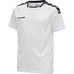 textil Børn T-shirts m. korte ærmer Hummel Maillot  enfant hmlAUTHENTIC Poly HML blanc/rouge