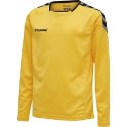 textil Børn Langærmede T-shirts Hummel Maillot  enfant manches longues Authentic HML jaune/noir
