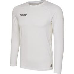 textil Herre Langærmede T-shirts Hummel Maillot  manches longues First Performance HML blanc