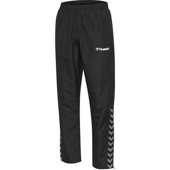 textil Børn Træningsbukser Hummel Pantalon enfant  hmlAUTHENTIC Micro noir/blanc