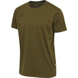textil Børn T-shirts m. korte ærmer Hummel T-shirt enfant  Lmove vert foncé