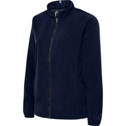 textil Dame Fleecetrøjer Hummel Veste femme  full zip North Fleece bleu marine