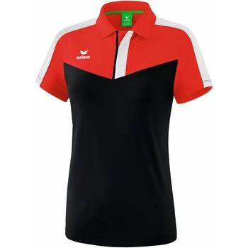 textil Dame Polo-t-shirts m. korte ærmer Erima Polo femme  Squad rouge/noir/blanc