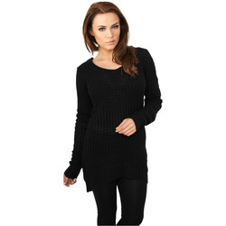 textil Dame Sweatshirts Urban Classics Sweatshirt femme Urban Classic long noir