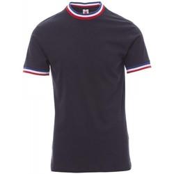 textil Herre T-shirts m. korte ærmer Payper Wear T-shirt Payper Flag bleu roi/italie