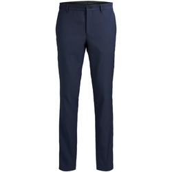 textil Herre Habit bukser Jack & Jones Pantalon  Solaris bleu foncé