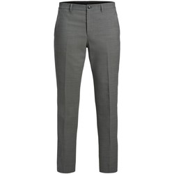 textil Herre Chinos / Gulerodsbukser Jack & Jones Pantalon  Solaris gris clair