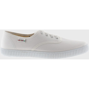Sko Lave sneakers Victoria Baskets  1915 anglaise toile blanc