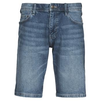 textil Herre Shorts Esprit SHORTS DENIM Blå