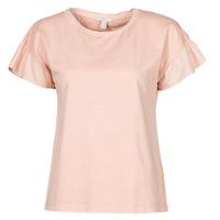 textil Dame T-shirts m. korte ærmer Esprit T-SHIRTS Pink