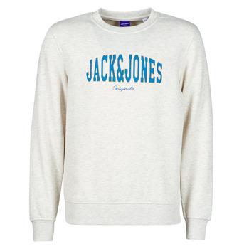 textil Herre Sweatshirts Jack & Jones JORHART Hvid