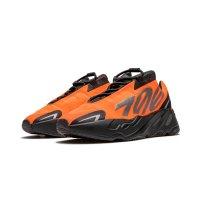 Sko Lave sneakers adidas Originals Yeezy Boost 700 MNVN Orange Orange/Orange/Orange