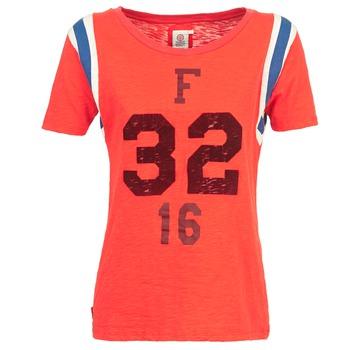 textil Dame T-shirts m. korte ærmer Franklin & Marshall POINTO Koral