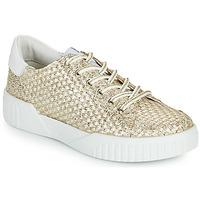 Sko Dame Lave sneakers Café Noir JANISA Hvid / Guld