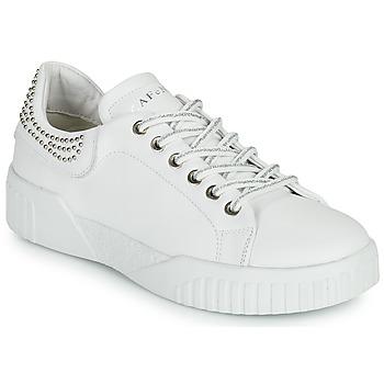 Sko Dame Lave sneakers Café Noir THINA Hvid