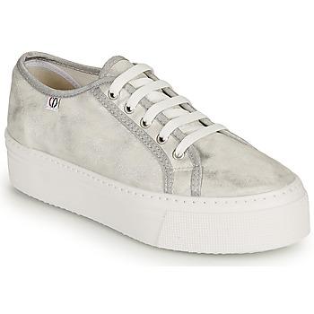 Sko Dame Lave sneakers Yurban SUPERTELA Sølv