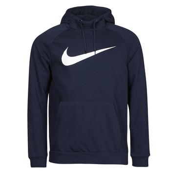 textil Herre Sweatshirts Nike DF HDIE PO SWSH Blå / Hvid
