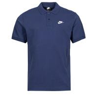 textil Herre Polo-t-shirts m. korte ærmer Nike NSSPE POLO MATCHUP PQ Blå