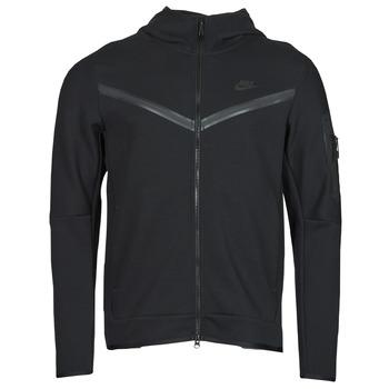 textil Herre Sportsjakker Nike NSTCH FLC HOODIE FZ WR Sort